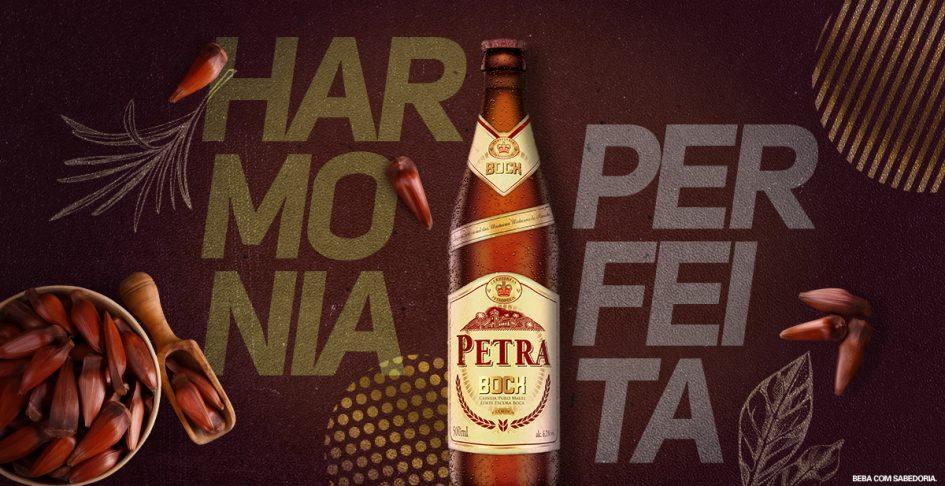 Harmonia Perfeita: Pinhão e Petra Bock – Cerveja Petra